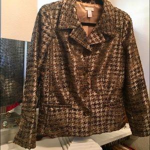 CHICO Jacket.  Gorgeous! Size 1